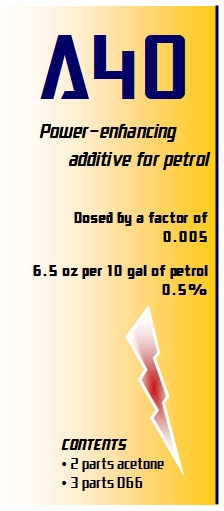 My overall fuel additives and how to prepare them